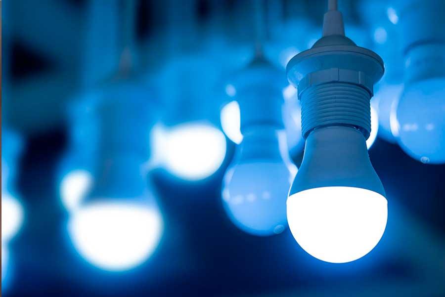 instalacion luz led comunidades